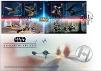 Great Brtiain - Star Wars 2019 - Numiscover - Galaxy Vehicle