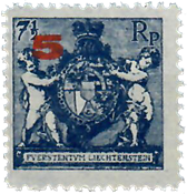 Liechtenstein 1924 - Michel  61-B - Postfrisk