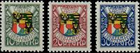 Liechtenstein 1927 - Michel  75-77 - Postfrisk