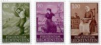 Liechtenstein 1961 - Michel  411-413 - Postfrisk