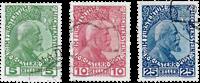 Liechtenstein 1912 - Michel 1-3x - Stemplet