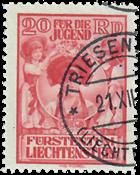 Liechtenstein 1932 - Michel  117 - Stemplet