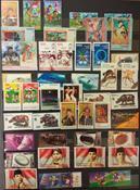 Indonesien - Postfrisk lot i indstiksbog