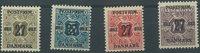 Danmark - 1918, 27 øre provisorier