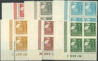 Danmark - 1927, 15-40 øre, karavel