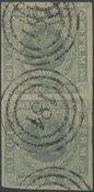 Danmark - 1854, 16 skilling grålilla