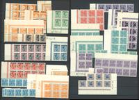 Danmark - Lot med postfriske portomærker