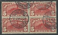 Danmark - AFA 67 stemplet 4-blok