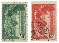 France 1937 - YT 354-55 - Oblitéré