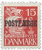 Danmark 1942 - Postfærgemærke - AFA PF16b - Postfrisk