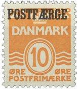 Danmark 1936 - Postfærgemærke - AFA PF15 - Postfrisk