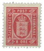 Danmark - Tjenestemærke AFA 6B postfrisk