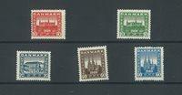 Danmark - Postfrisk sæt AFA 112-116