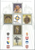 Autriche - Bloc-feuillet illustrant le Pape, 2004