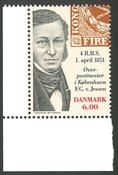 Danmark - Første danske frimærke 150 år