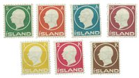 Island - AFA 69-75 postfrisk