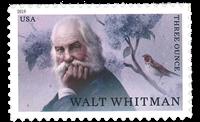 USA - Walt Whitman - Postfrisk frimærke