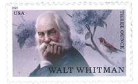 United States - Walt Whitman - Mint stamp