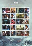 Grande-Bretagne - Star Wars, La Guerre des Etoiles  2019 - Feuillet neuf 10v