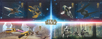 England - Star Wars 2019 - Postfrisk miniark