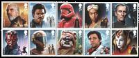 England - Star Wars 2019 - Postfrisk sæt 10v