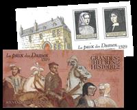 Frankrig - Le Paix d.Dames - Postfrisk miniark i folder