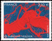 Frankrig - F.Verdier - Postfrisk frimærke