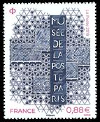 Frankrig - Postmuseum Paris - Postfrisk frimærke