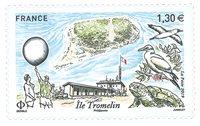 Frankrig - Tromelin-øen - Postfrisk frimærke
