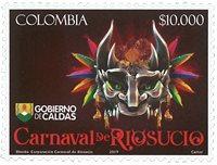 Colombia - Riosucio Carnival * - Postfrisk sæt