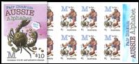 Australia - Alphabet M - Mint booklet