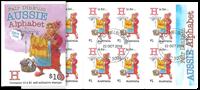 Australia - Alphabet H - Cancelled booklet