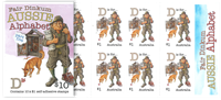 Australia - Alphabet D - Mint booklet