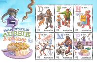 Australia - Alphabet 2019 - Mint souvenir sheet