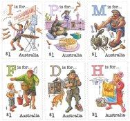Australien - Alfabet 2019 - Postfrisk sæt 6v