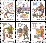 Australia - Alphabet 2019 - Mint set 6v