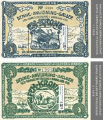 Old Greenlandic Banknotes II - Mint - Souvenir sheet