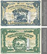 Gamle grl. pengesedler II - Postfrisk - Miniark