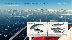 Fisk i Norden - Postfrisk - Miniark