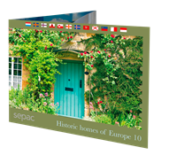 SEPAC 2019: Historic Homes of Europe - Postfrisk - Souvenirmappe