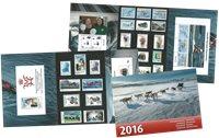 Årsmappe 2016 - Postfrisk