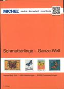 MICHEL - Butterflies, Worldwide 2019 - Stamp catalogue