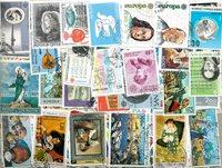 Europa Cept - 600 timbres diff.