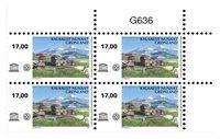 UNESCO: Kujataa - Postfrisk - 4-blok øvre marginal