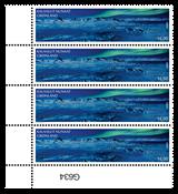 SEPAC: Fantastiske udsigter - Postfrisk - 4-blok nedre marginal