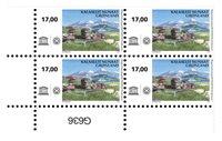 UNESCO: Kujataa - Postfrisk - 4-blok nedre marginal