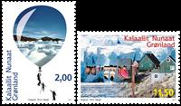 Miljø i Grønland I - Postfrisk - Sæt