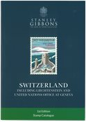 SG Switzerland 1st edition, incl.Liechtenstein and  FN