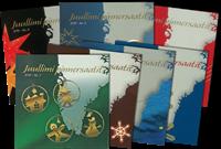 Grønland Juleophæng nr. 1-7 med abonnement - 2019