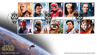 Great Britain - Star Wars 2019 - First Day Cover with set